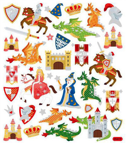 Castles & Dragons Stickers
