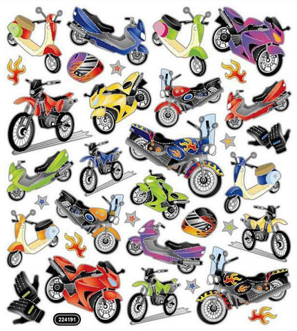 Motorcycle Mania Stickers