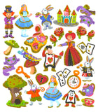 The World Of Alice Sticker • Alice In Wonderland Sticker
