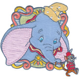 Disney Dumbo With Circus Mouse Iron-On Applique