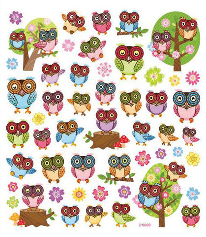 Big Eyed Owl Sticker