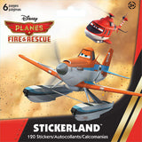 Disney Planes Stickers Mini Stickerland Pads