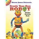 Create Your Own Robot Sticker Activity Book