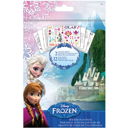 Disney Frozen Play Pack Sticker & Coloring Pages