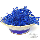 Royal Blue Paper Shred • Blue Crinkle Cut Basket Filler (9oz)