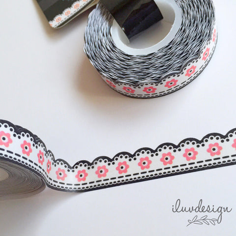 Floral Lace Tape Works