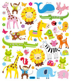 Animal Menagerie Stickers