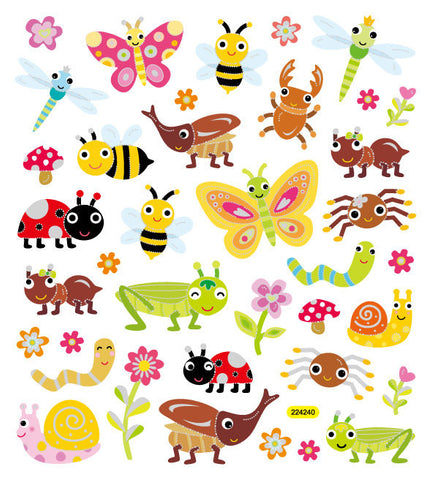 Bugs Stickers • Bugs Multicolored Stickers