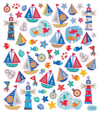 Nautical Time Stickers