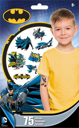 Batman Temporary Tattoos 75ct