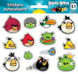 Angry Birds Stickers (2 sheets)