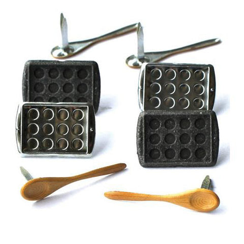 Baking Brad & Eyelets (12 Kitchen Brads)