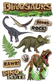 Dinosaurs Dimensional Sticker • Paper House 3D Sticker