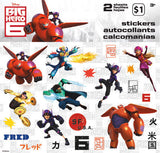 Big Hero 6 Stickers (2 sheets)