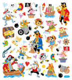 Animal Pirate Stickers • Pirate Stickers