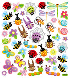 Beetles, Butterflies and Dragonflies Stickers