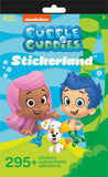 Bubble Guppies Sticker Stickerland Pad (4 pages)