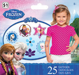 Disney Frozen Temporary Tattoos • Mini Tattoo Bag 25ct