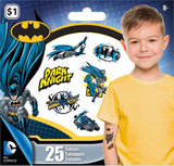 BatmanTemporary Tattoos • Mini Tattoo Bag 25ct