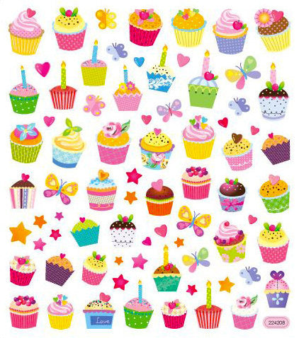 Cupcake Sticker • Sweet Time Stickers