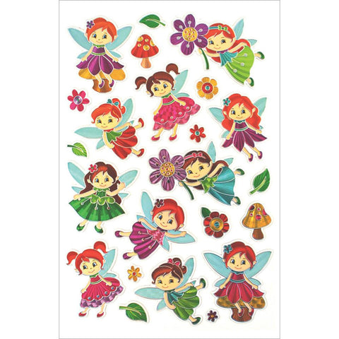 Fairy Bloom MultiCraft Laser Embossed Stickers