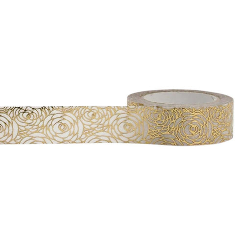 Gold Rose Decorative Tape • Little B Foil Tape