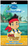 Jake and the Never Land Pirates Stickerland Pad (4 Pages • 295/Pkg)