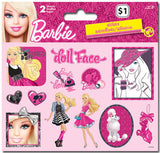 Barbie Stickers (2 sheets)