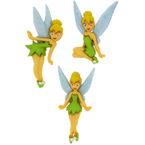 Disney Tinkerbell Dress it up Embellishment (3/Pkg)