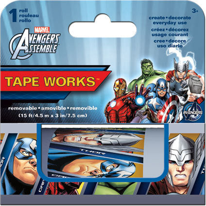 Avengers Accent Tape Works