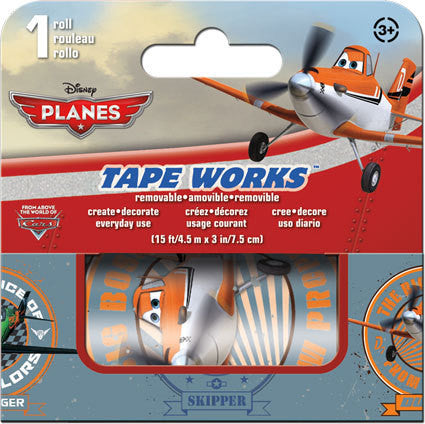 Disney Planes Decorative Tape Works