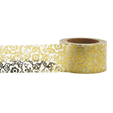 Golden Floral Tape • Little B Foil Tape