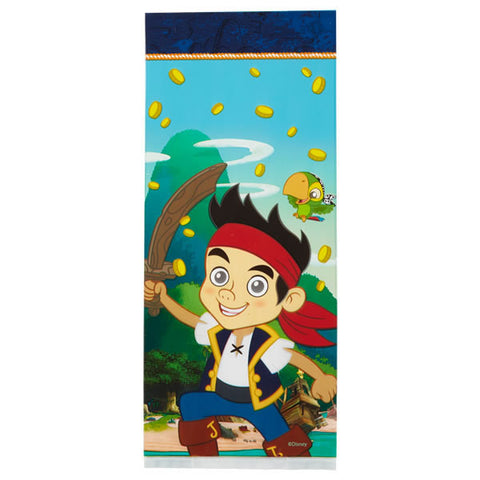 Jake and the Never Land Pirates Treat Bags (16/Pkg)