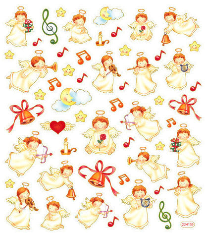 Christmas Angel Stickers • Angel Sticker