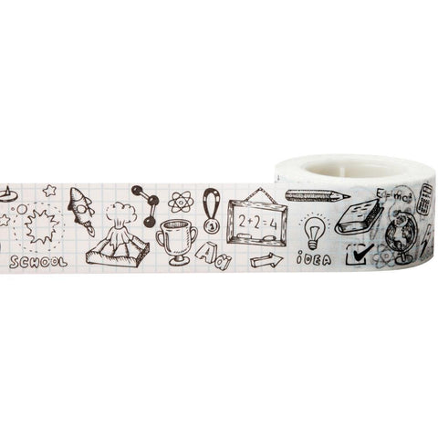 Doodles Decorative Tape • Little B Doodles Decorative Tape