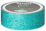 Teal Glitter Tape (7/8 inch) Heidi Swapp Marquee Love Washi Tape .875""