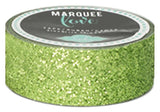 Lime Green Glitter Tape (7/8 inch) Heidi Swapp Marquee Love Washi Tape