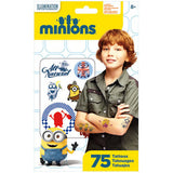 Minions Movie Temporary Tattoos 75ct