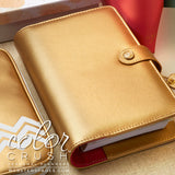 60% Off Sale! Personal Binder Gold Webster's Pages Color Crush