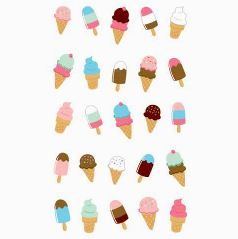 Ice Cream Treats Stickers