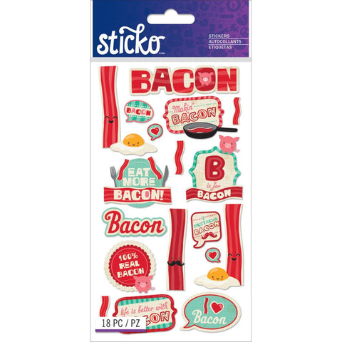 Bacon Sticko Stickers