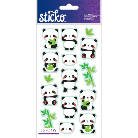 Rolly Polly Panda Sticko Sticker