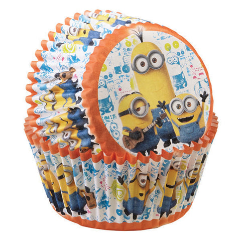Minions Baking Cups • Despicable Me Minion Cupcake Liner