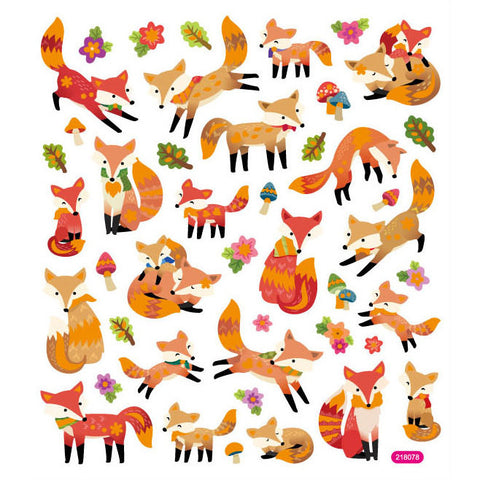 Fox Sticker • Woodland Sticker