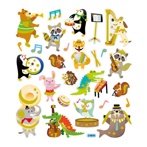 Animal Band Sticker • Forest Music Band
