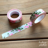 Antique Floral Washi Tape