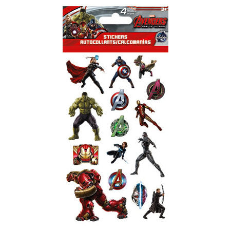 Avengers 2 Age of Ultron Stickers (4 sheets)