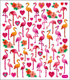 Flamingo Love Stickers