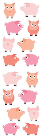 Chubby Pigs Stickers • Mrs. Grossman's Stickers