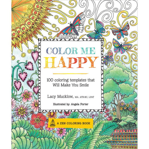 Color Me Happy Coloring Book • Race Point Publishing Books